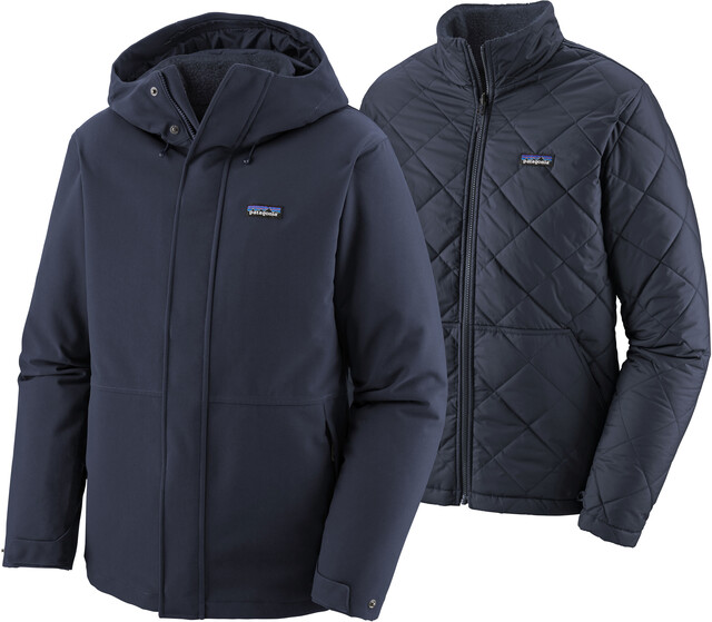 Patagonia Lone Mountain 3 in 1 Jacke Herren new navy